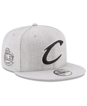 7d12e567198b7d New Era Boys' Cleveland Cavaliers The Heather 9FIFTY Snapback Cap - Gray  Adjustable