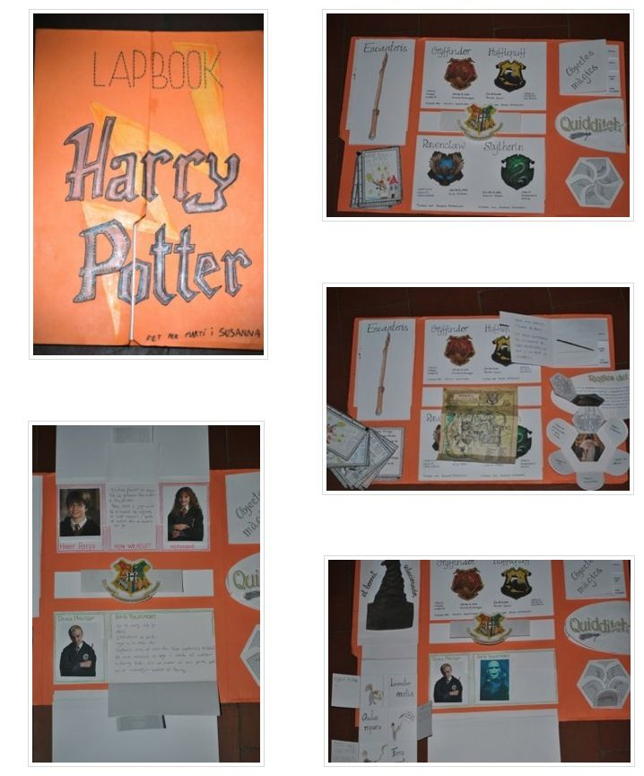 Lapbook Harry Potter Schule