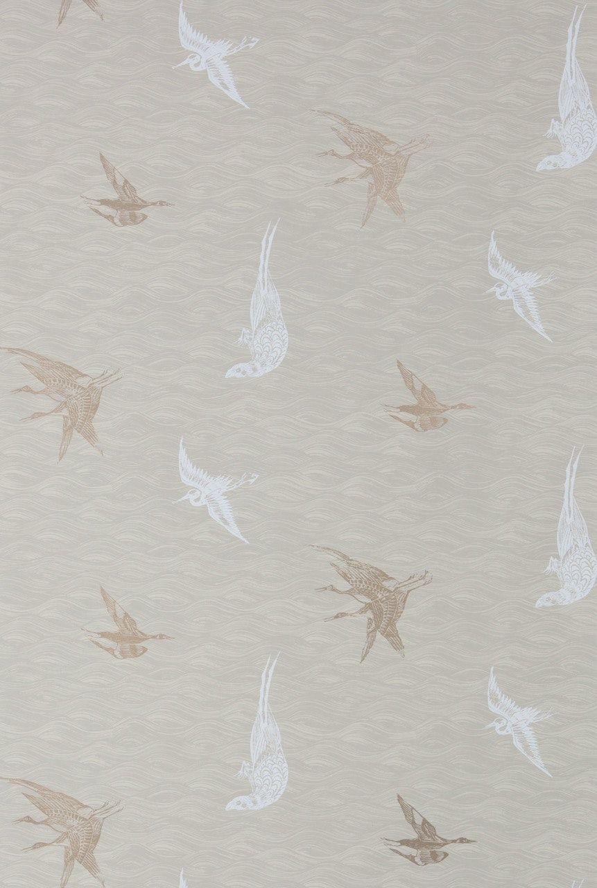 Buy Birds Dune Wallpaper by Krane Home - Made-to-Order designer ...