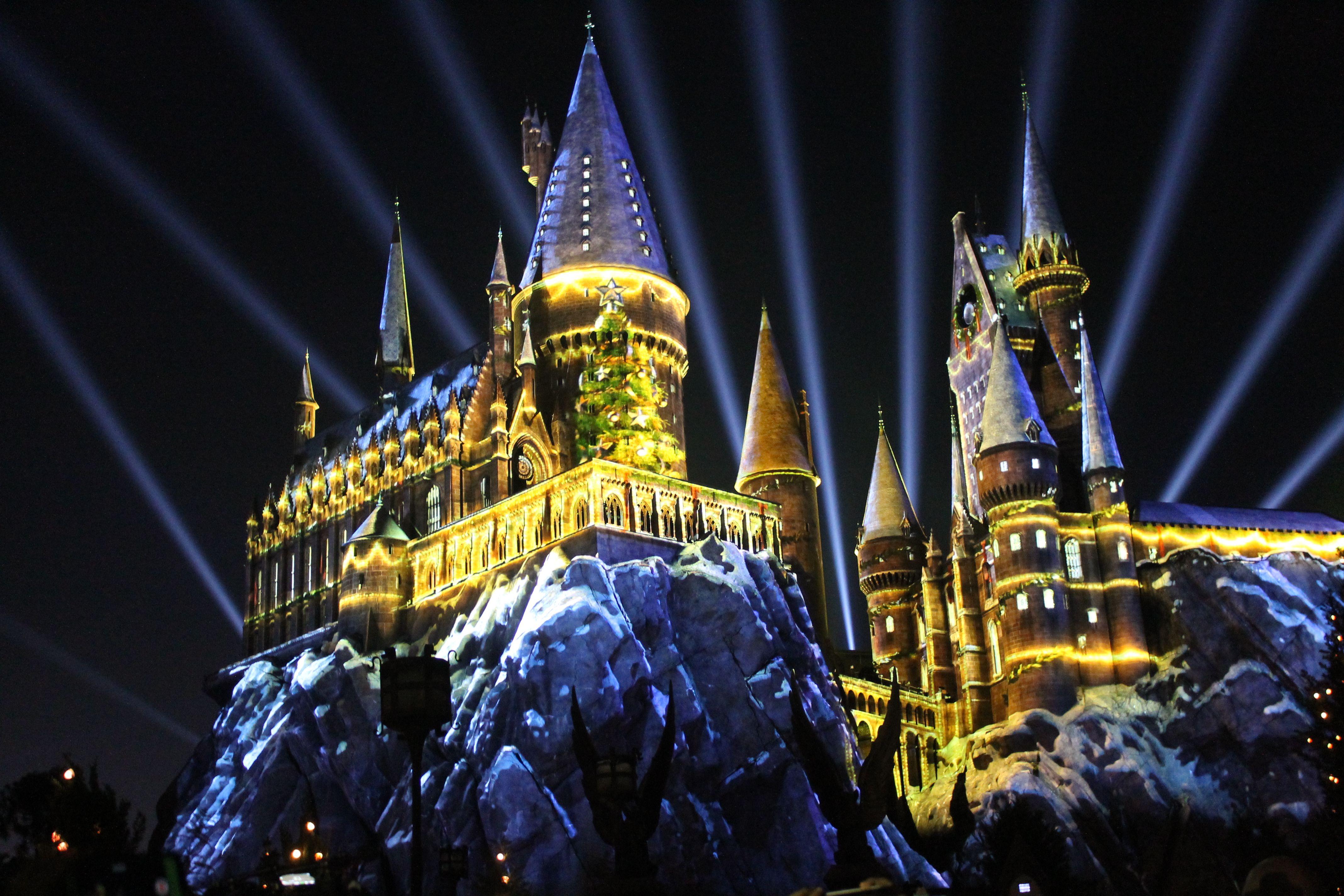 Hogwarts Castle show