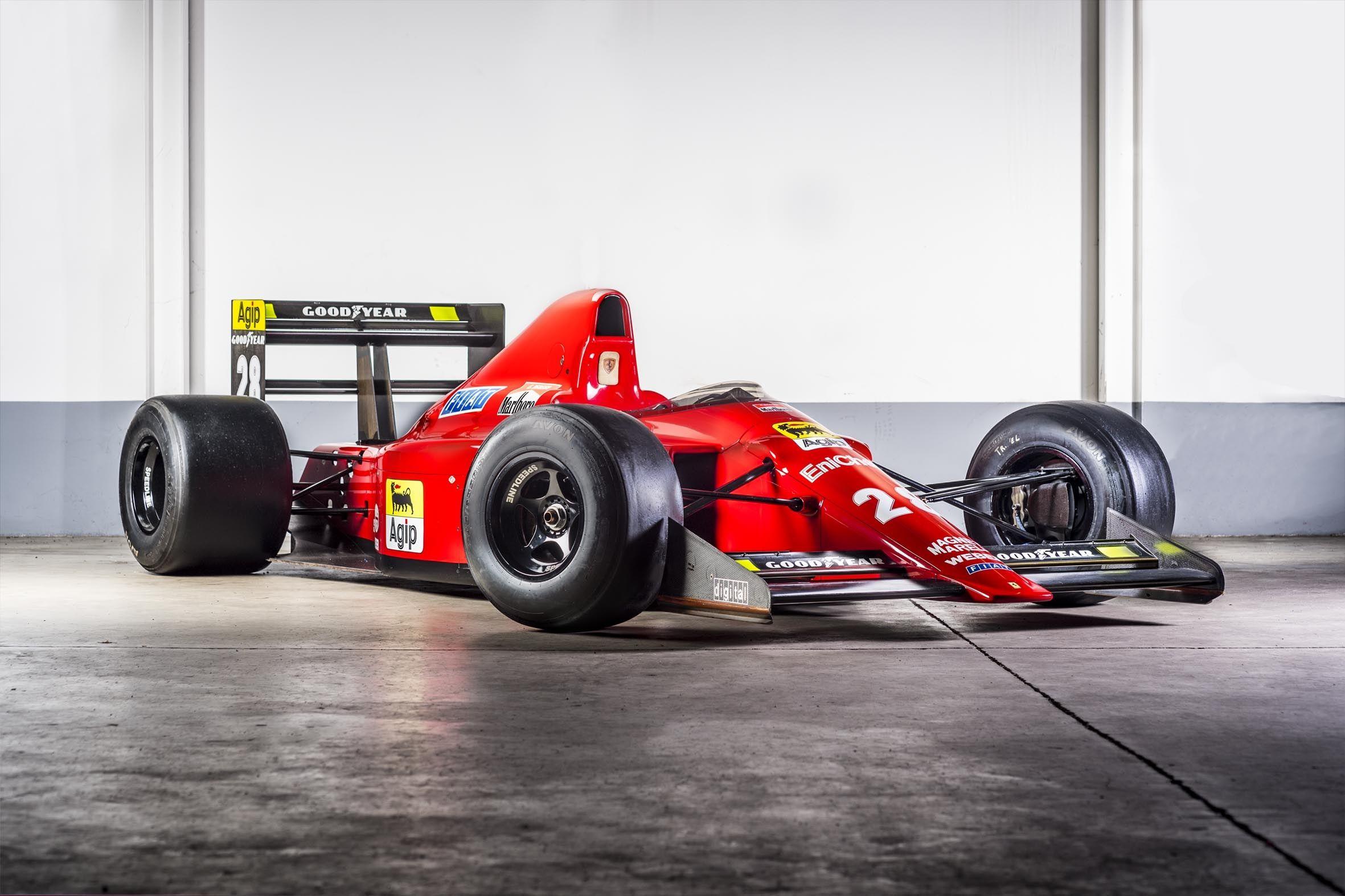 1989 Ferrari Formula 1 640 F1 Ex Berger Rebuilt At Ferrari F1 Clienti Ferrari F1 Formel 1 Ferrari