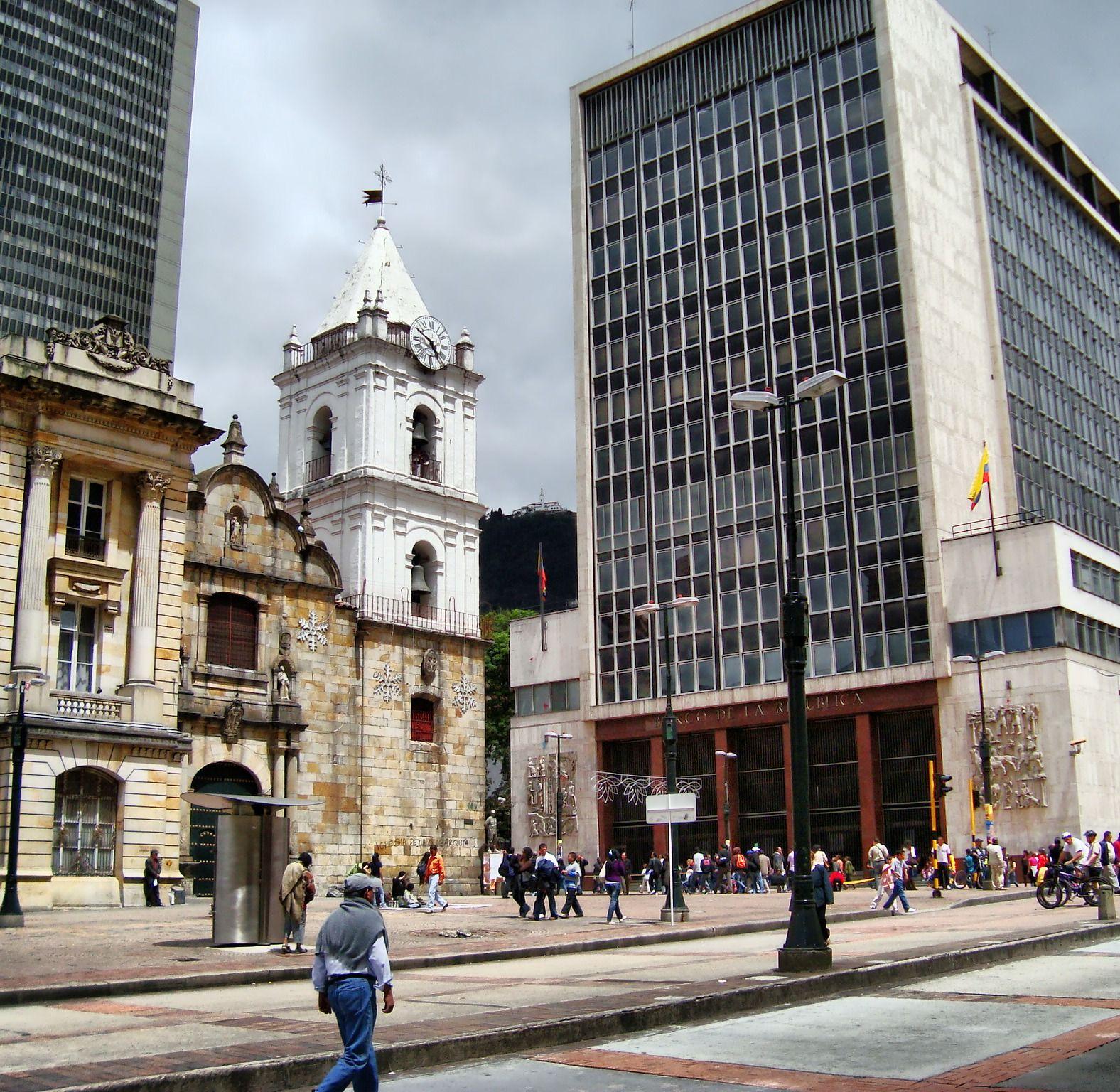 Av Jimenez ,calle 8. Bogotá