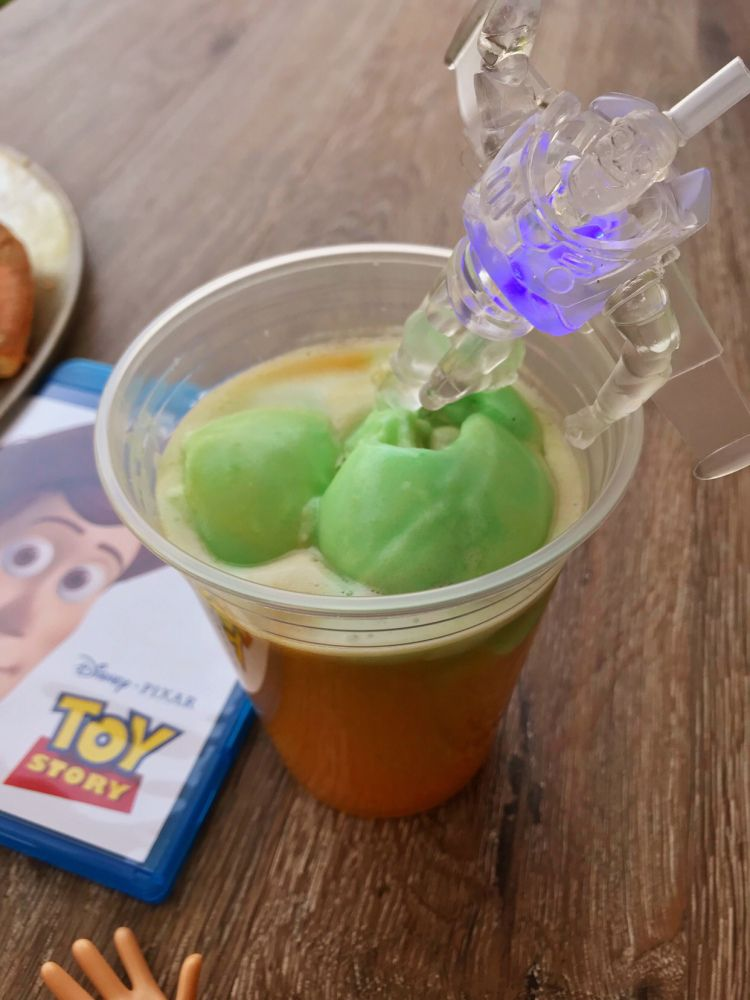 Rocket Fuel Punch Recipe A Refreshing Drink Perfect For Your Toy Story Movie Night Rocket Fuel Disney Inspired Recipes Punch Recipes