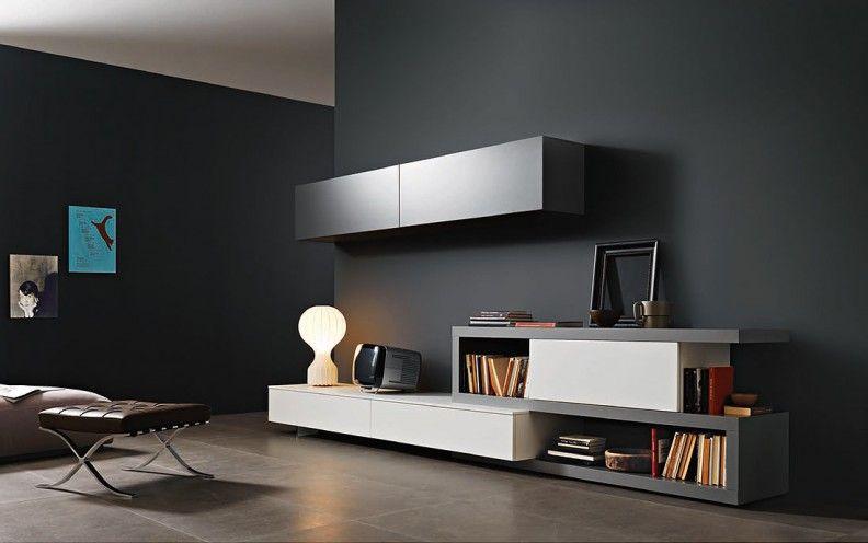 designer wohnw nde stilvolles zentrum f r ihr wohnzimmer. Black Bedroom Furniture Sets. Home Design Ideas