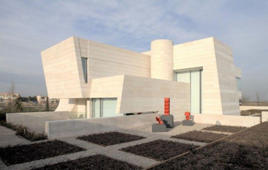 modern concrete house design - Iroonie.com