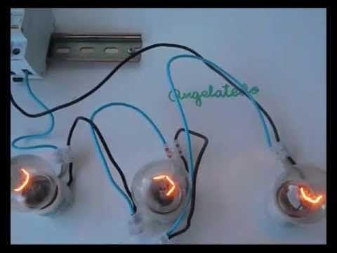 Lamparas Conectadas En Serie Y Paralelo 1 Instalacion Electrica Instalacion De Luz Curso De Electricidad