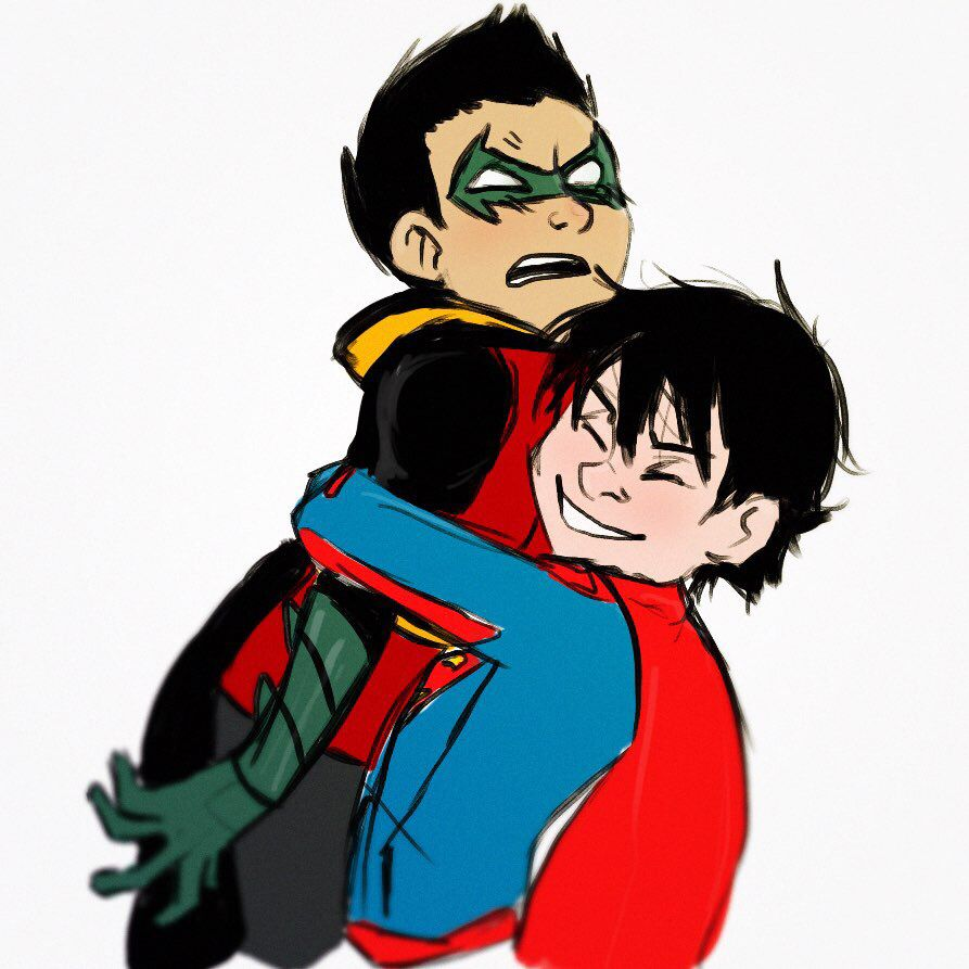Damian Wayne and Jon Kent - Super sons | DC Comics ...