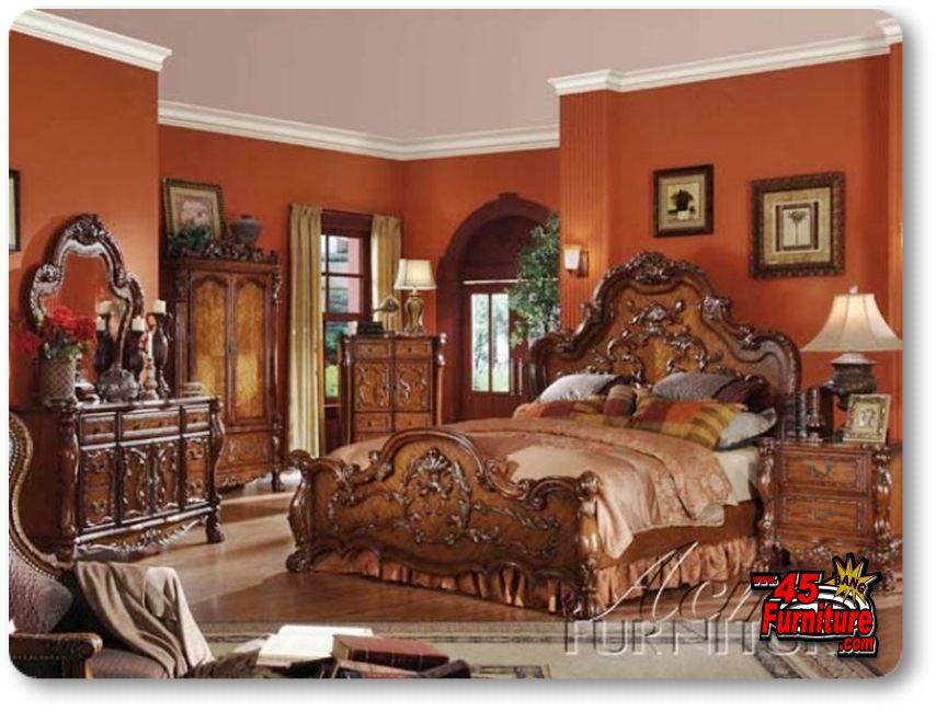 Dresden Queen Bedroom Furniture Set Collection Master Suite