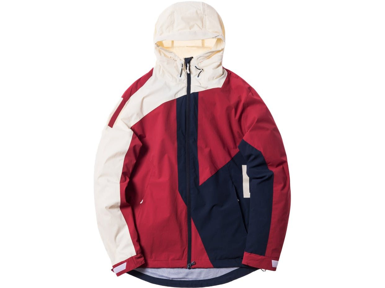 8fa1bd986878 Check out the Kith Madison Jacket Navy Red Off White available on StockX  Windbreaker