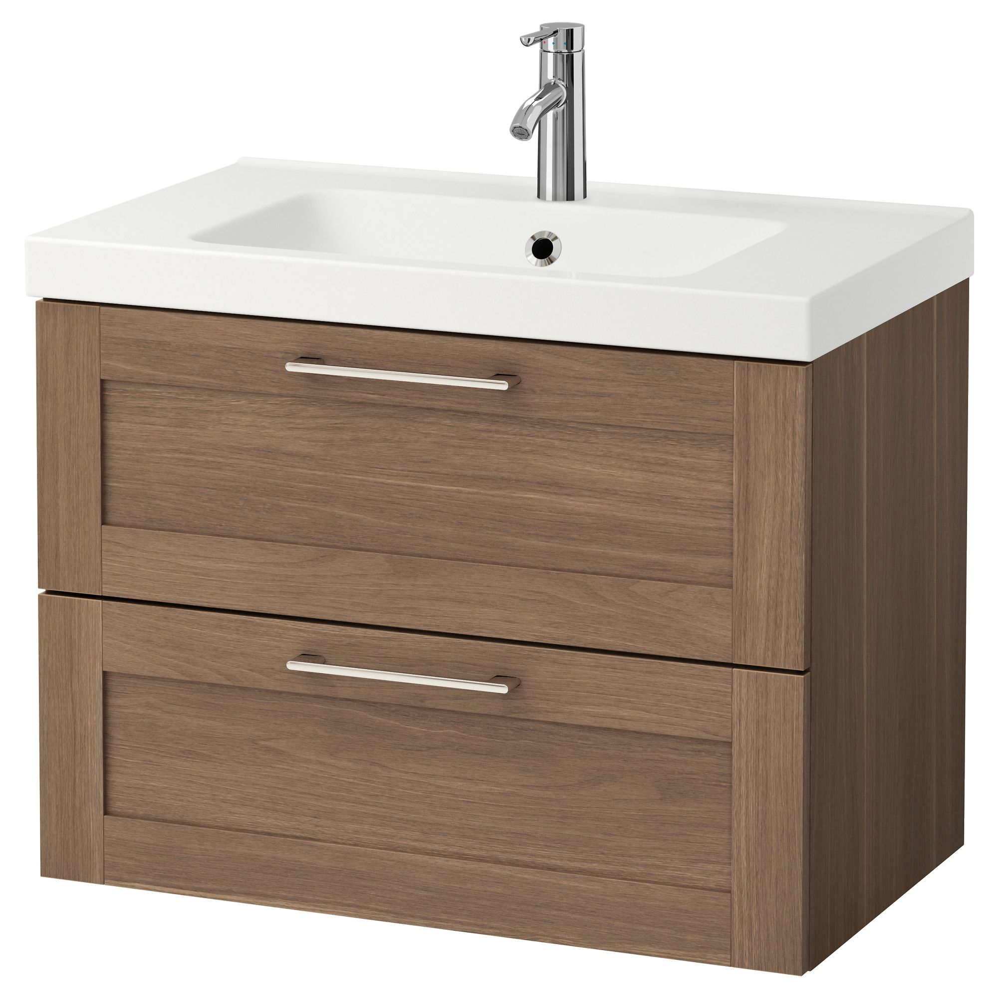 ikea godmorgon odensvik sink cabinet with 2 drawers. Black Bedroom Furniture Sets. Home Design Ideas