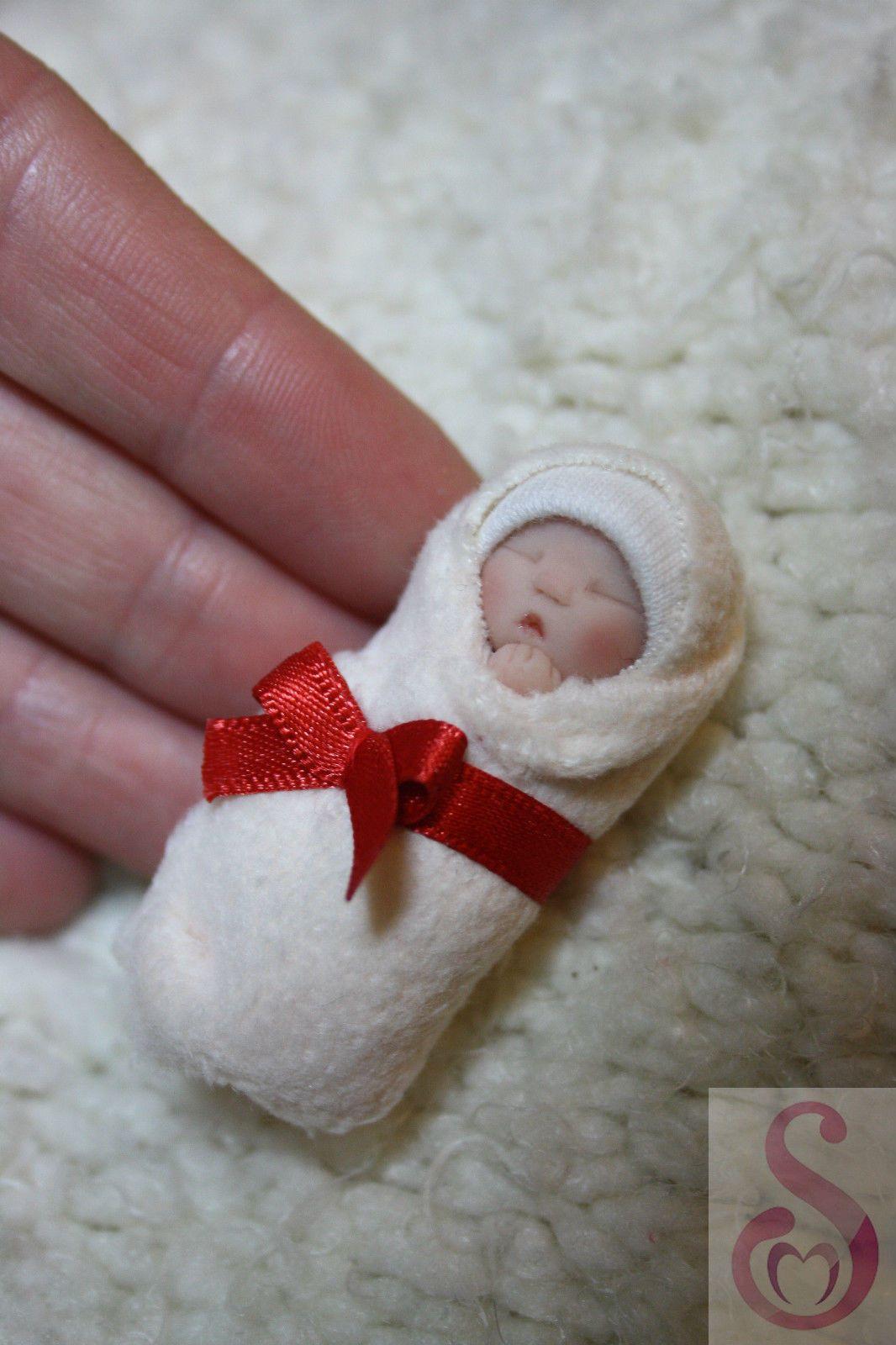 Art Dolls-ooak Dolls & Bears Ooak Baby Miniature Doll Shoes