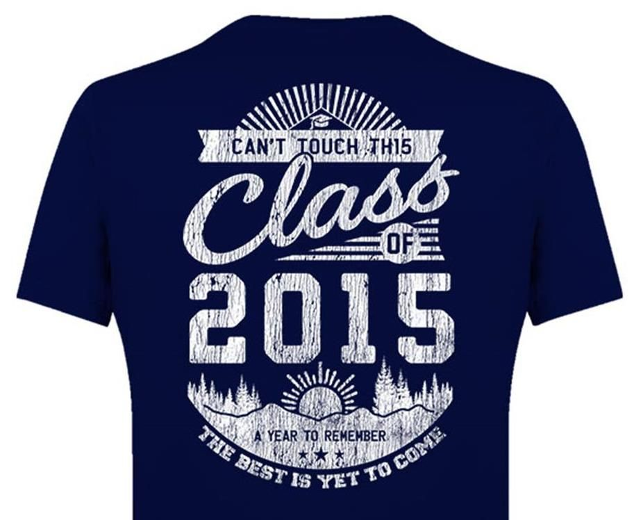 Your Class Year Custom Printing T Shirt Available Now