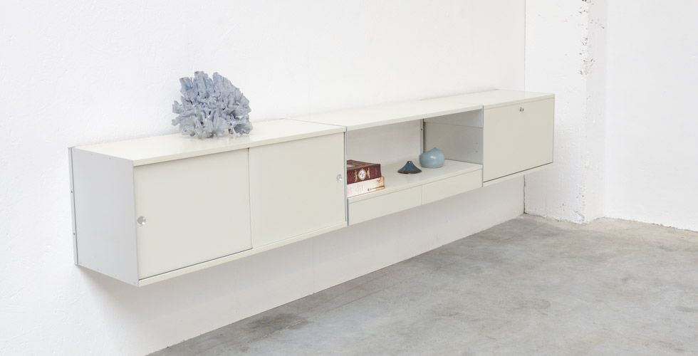 wall unit vitsoe 606 by dieter rams for vitsoe for the. Black Bedroom Furniture Sets. Home Design Ideas