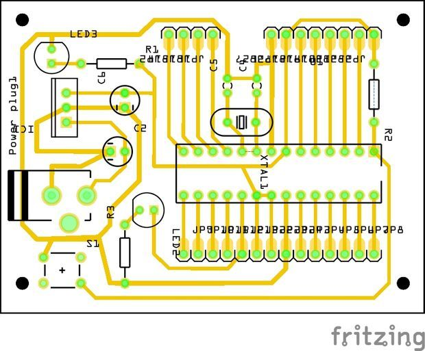 Stand Alone Arduino ATmega328p | Electric | Arduino, Arduino board