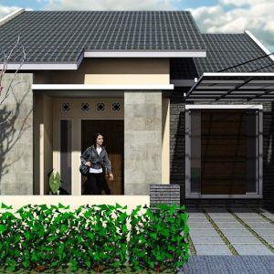10 model rumah sederhana di kampung terbaru 2020   desain