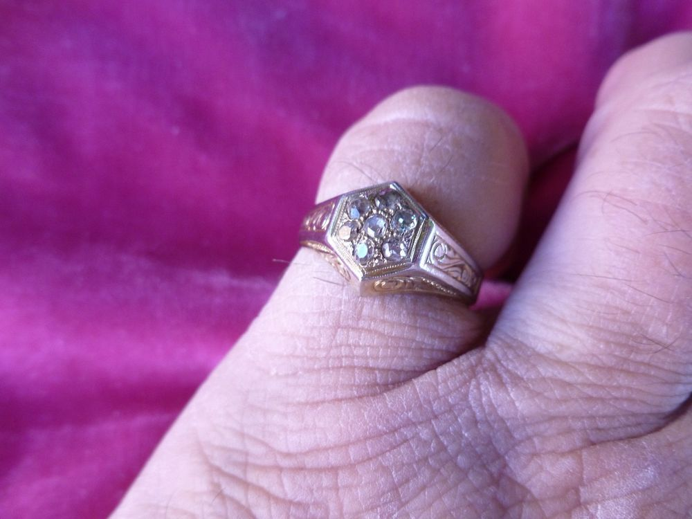 US $399.99 Pre-owned in Jewelry & Watches, Fine Jewelry, Fine Rings