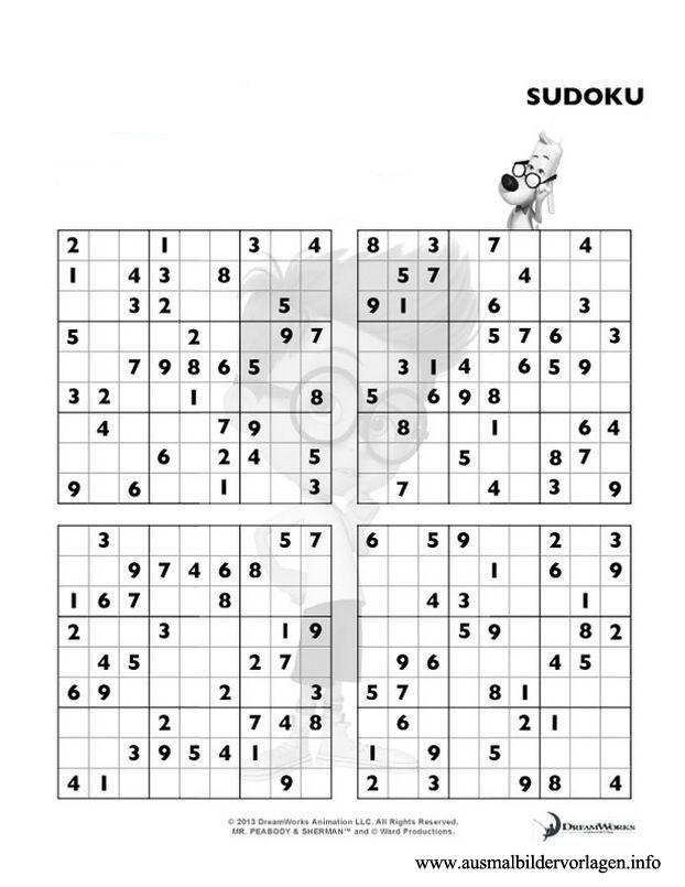 Ausmalbilder Sudoku Kostenlos | SUDOKU | Pinterest | Ausmalbilder ...