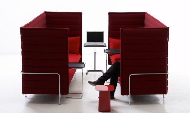 Vitra Alcove Highback   Office Ideas   Pinterest   Büros, Büro ideen ...