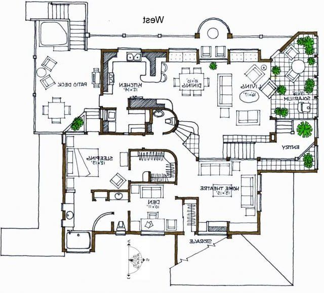 Contemporary House Plans 2 bath contemporary house plan image Contemporary House Plans