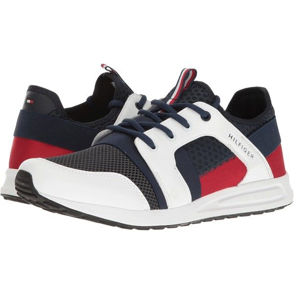 efc38da4b7e2a Tommy Hilfiger Lopez (Navy White) Men s Shoes ( 40) ❤ liked on ...