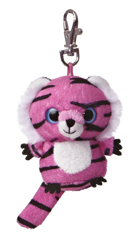 Jinxee Yoohoo Plush Pink Tiger Clip On By Aurora 29057 Buyable