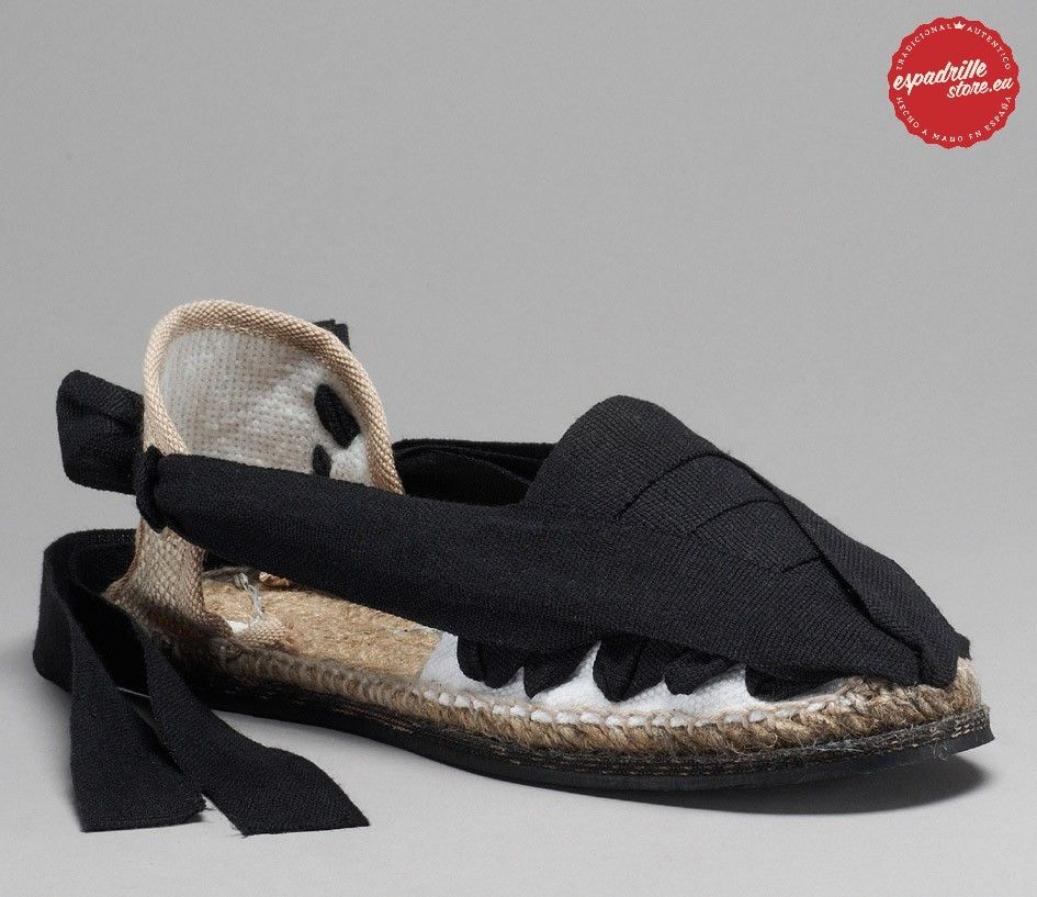 The true authentic Catalana espadrille