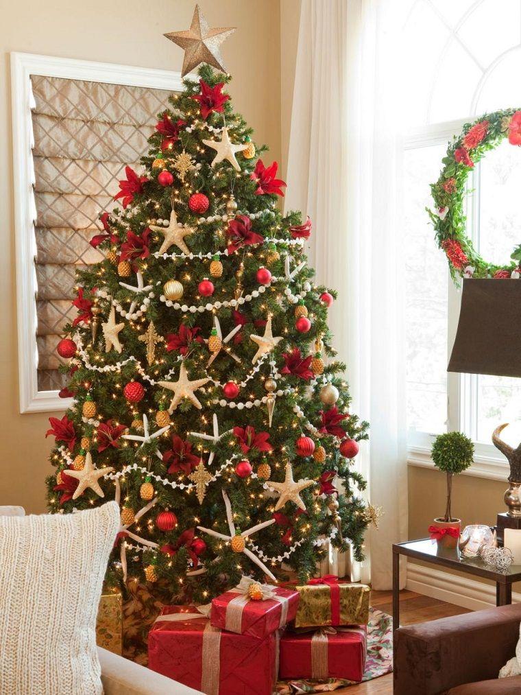 estrellas de mar decorando el rbol de navidad - Como Adornar Un Arbol De Navidad