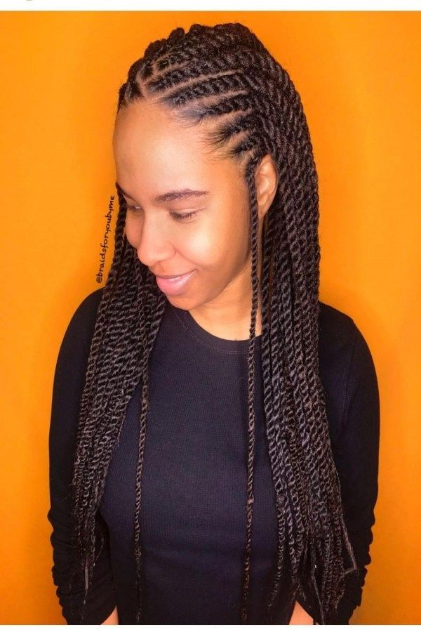 📣 63 Models Beautiful Hair Braid Black Suitable for Spring Season 1803 -   13 spring hairstyles For Black Women ideas
