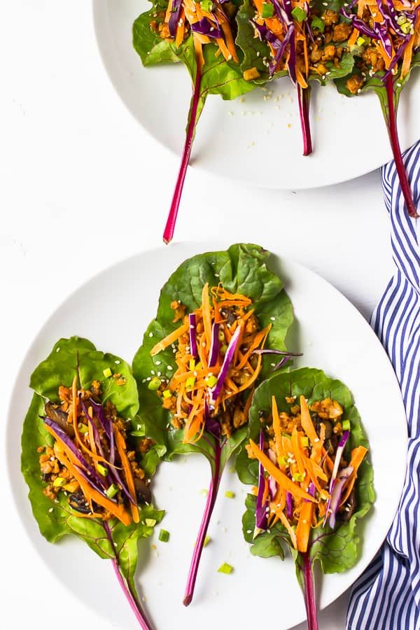 Photo of Vegan Chard Wraps – Jessica In The Kitchen