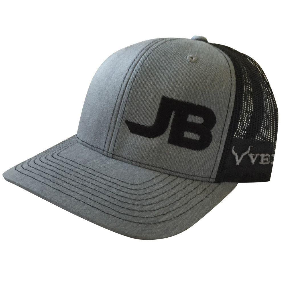 110730c9eef JB Mauney - Grey Black Snapback Cap