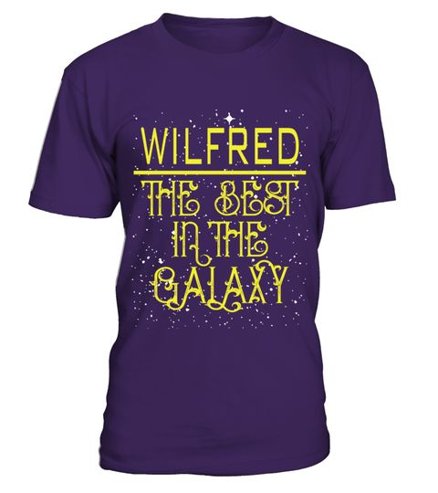 # WILFRED THE BEST IN THE GALAXY .  WILFRED THE BEST IN THE GALAXY  A GIFT FOR THE SPECIAL PERSON  It's a unique tshirt, with a special name!   HOW TO ORDER:  1. Select the style and color you want:  2. Click Reserve it now  3. Select size and quantity  4. Enter shipping and billing information  5. Done! Simple as that!  TIPS: Buy 2 or more to save shipping cost!   This is printable if you purchase only one piece. so dont worry, you will get yours.   Guaranteed safe and secure checkout via…