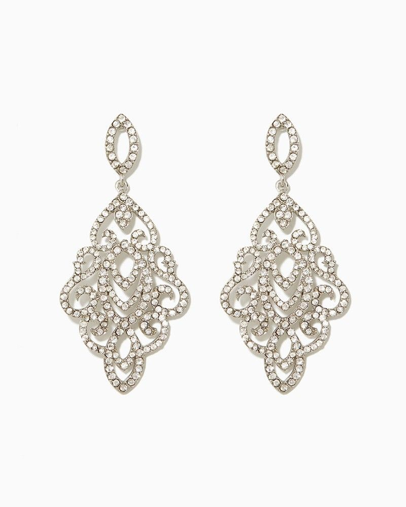 charming charlie Lilybeth Drop Earrings UPC 400000175966