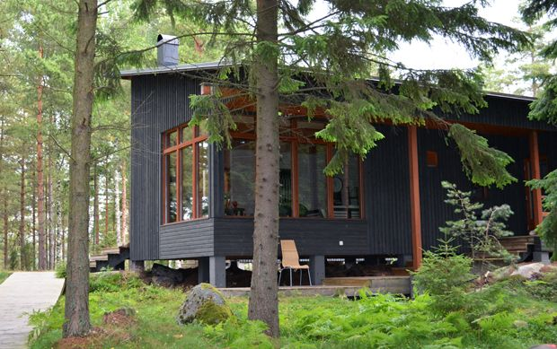 Cottage in the Woods. Cute.