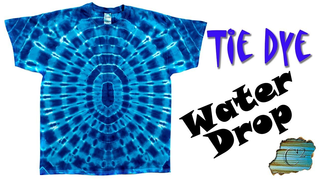 dbb8af461ceb How to Tie Dye: Water Drop - YouTube | Fun Things to Do | How to tie ...