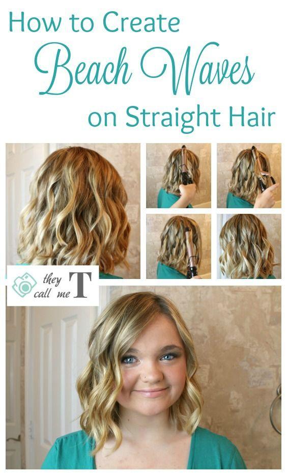 How To Create The Perfect Beachy Waves Beach Waves Hair Tutorial