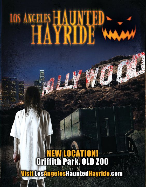 Fright Fest Attraction Los Angeles Haunted Hayride Griffith Park Ca Hollywoodland Amusement And Trai Haunted Hayride Los Angeles Haunted Hayride Hayride