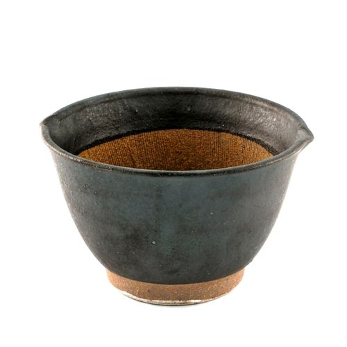 Black Double Lipped Large Bowl with Japanese-style Mortar (Suribachi) 31 fl oz / 6.02  dia  sc 1 st  Pinterest & Shop MTC Kitchen NYC online store for Japanese knives sharpening ...