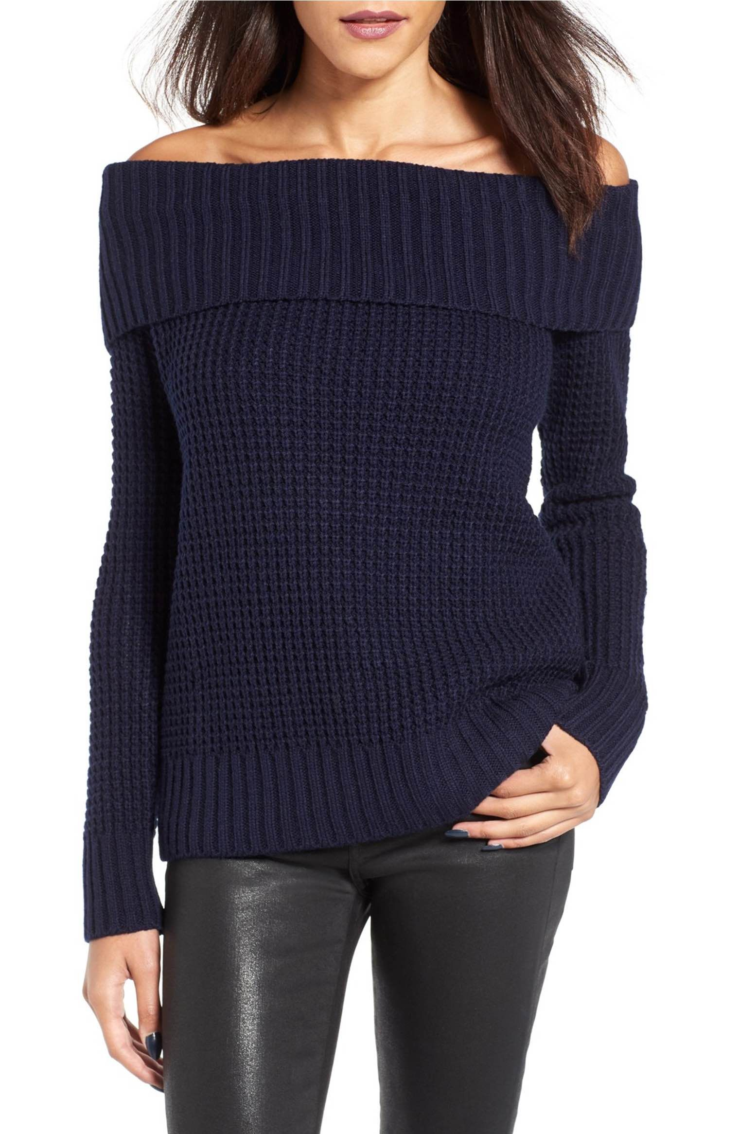 Main Image - BP. Off the Shoulder Sweater | Fashion | Pinterest ...