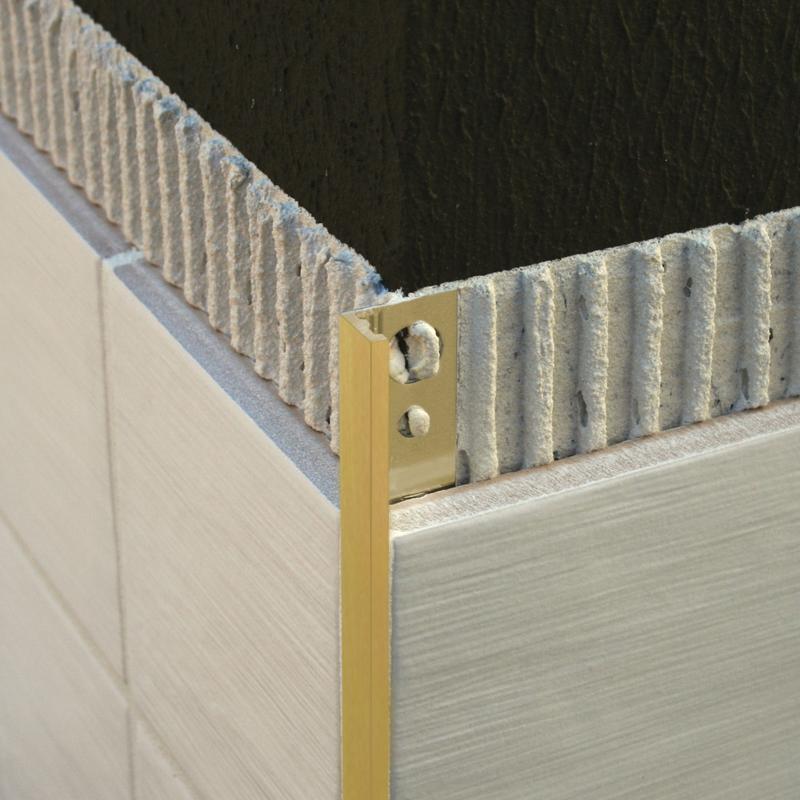 Image Result For Brass Tile Trim With Images Tile Trim Plastic Tile Interior Tiles