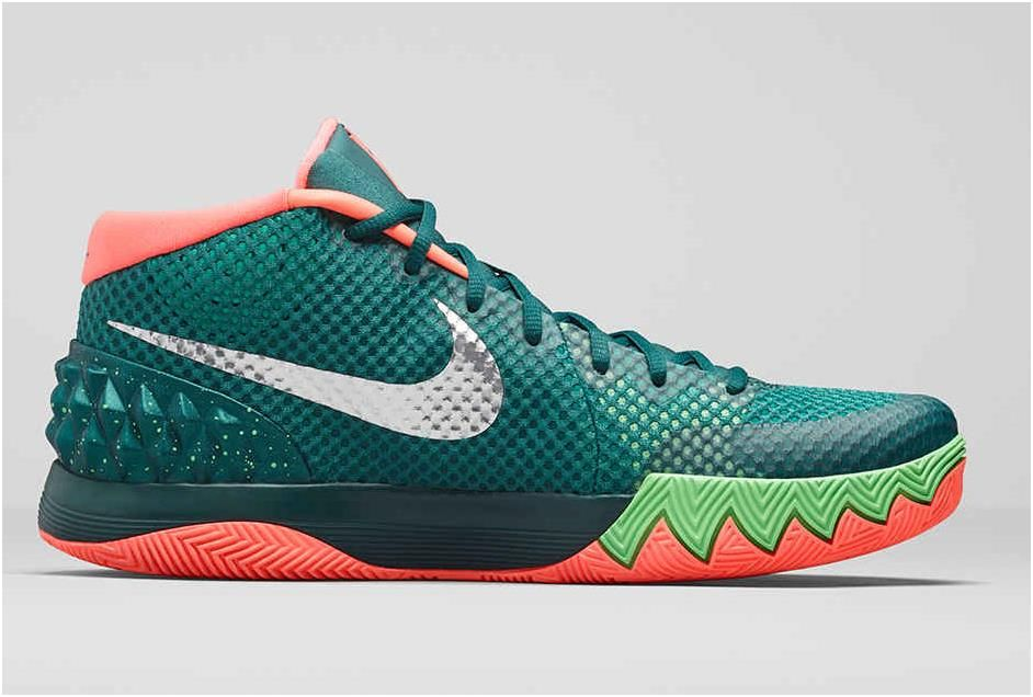 save off 7f371 42334 Nike Kyrie 1 FLYTRAP Menta Emerald Green Fuchsia Flash White2