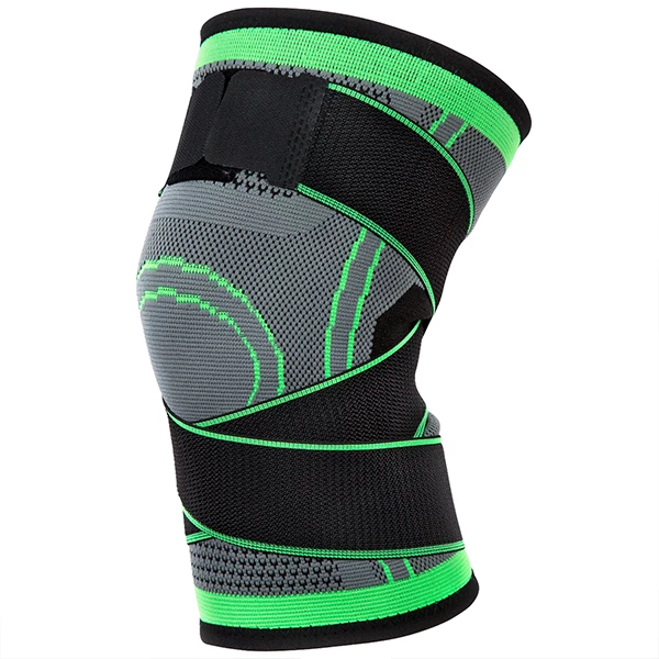 Men Compression Leg Warmers Sleeve Support Running Sport Muscle Knee Pad Brace