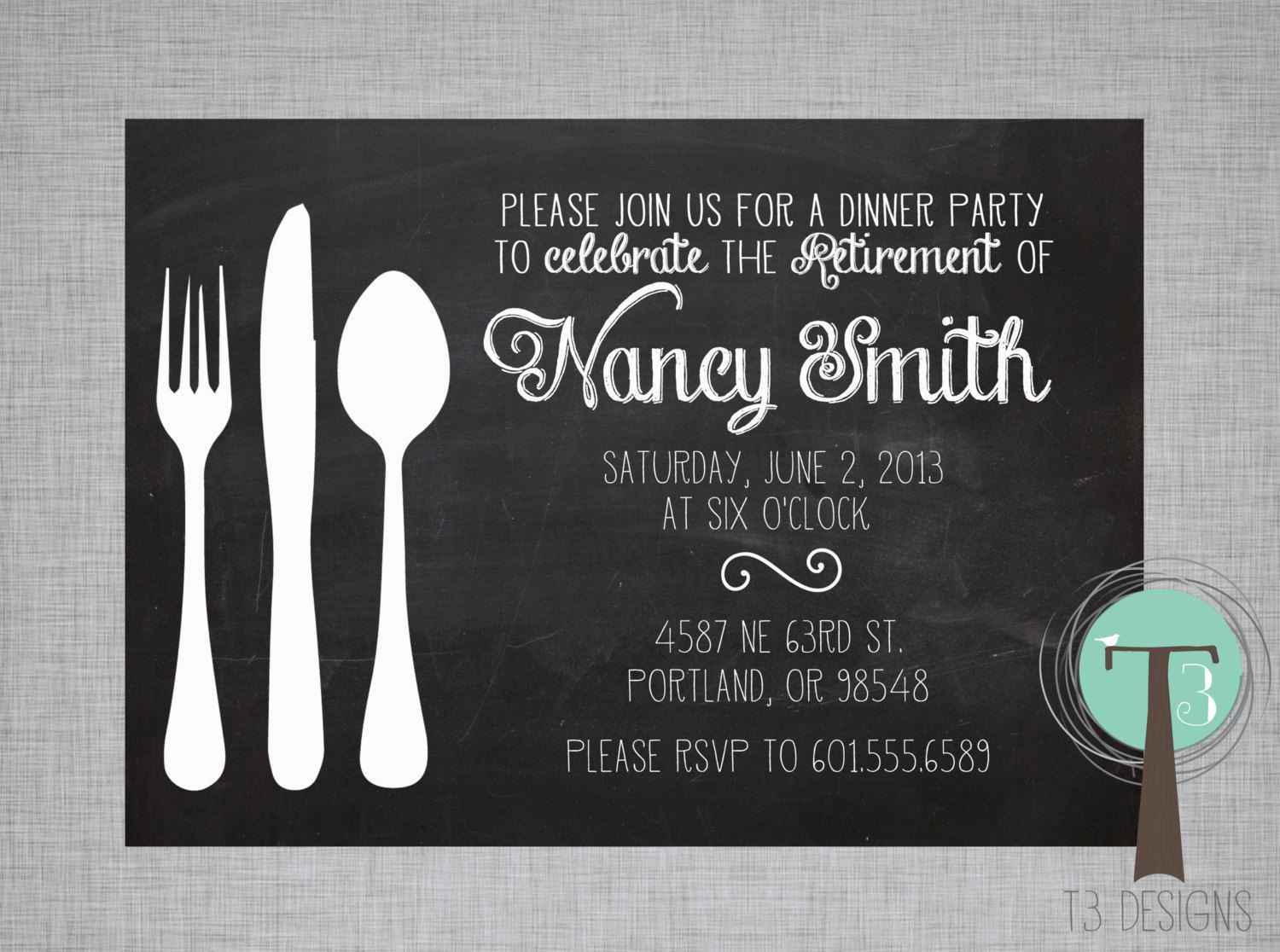 Dinner Invitation Template Dinner Invitation Template  Dinner Invitation Template Text .