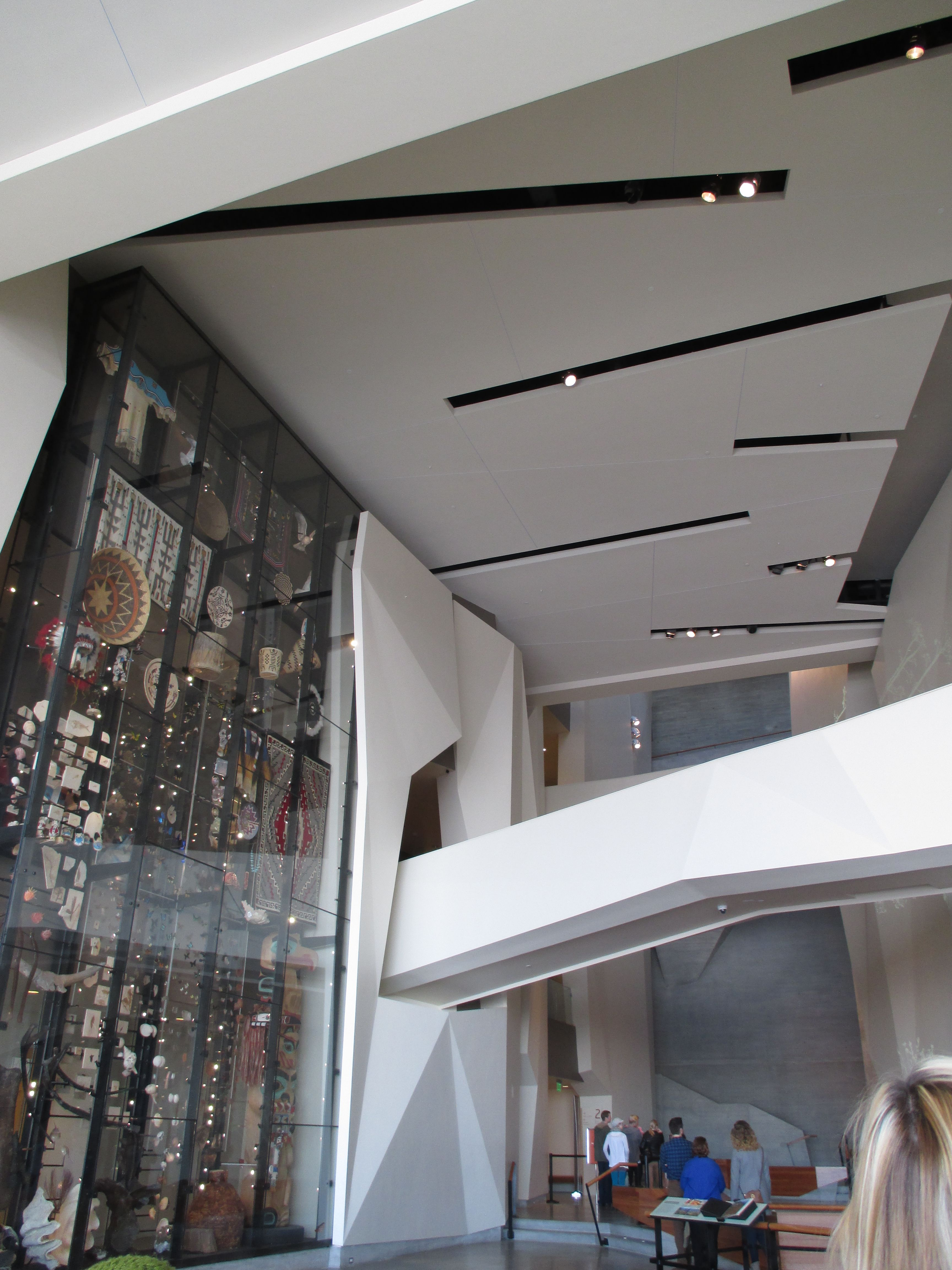 A View Of The Entrance Lobby With The Ceiling Bridge And