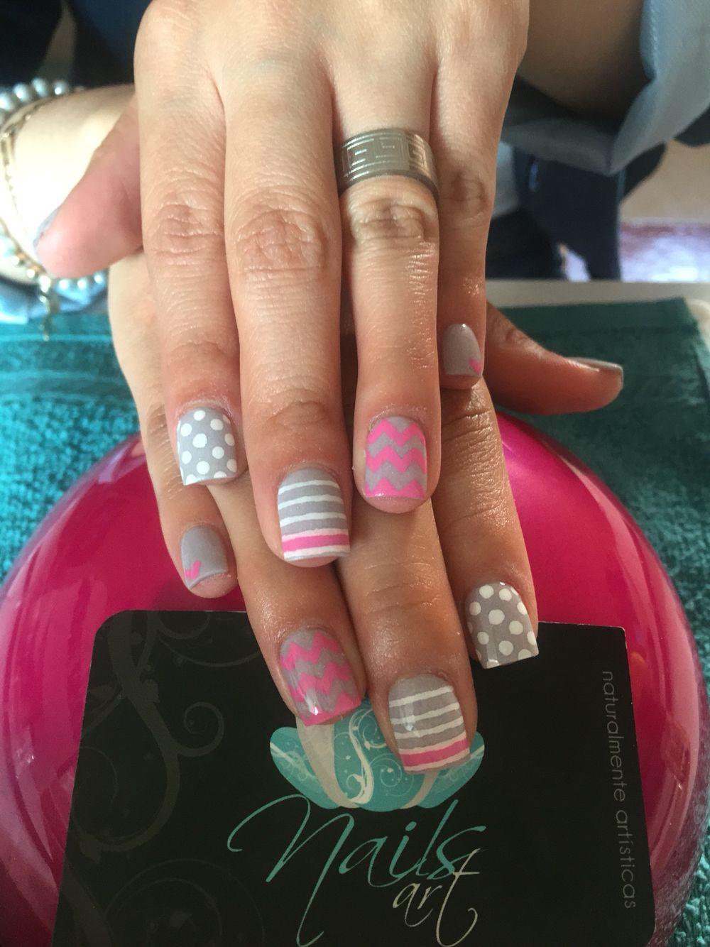 Acrylic nails nails art nails grey nails nails art pinterest