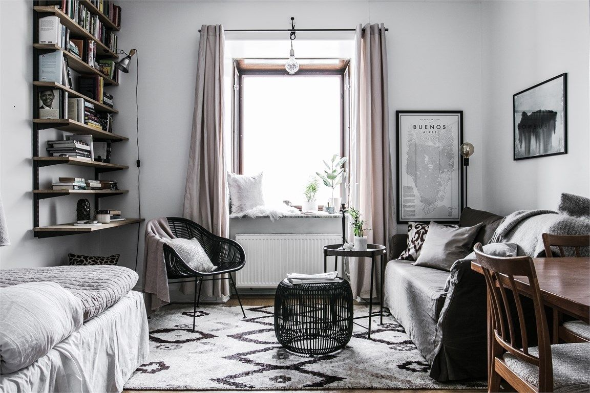 Studio apartment decor inspiration. Are you looking for unique and ...