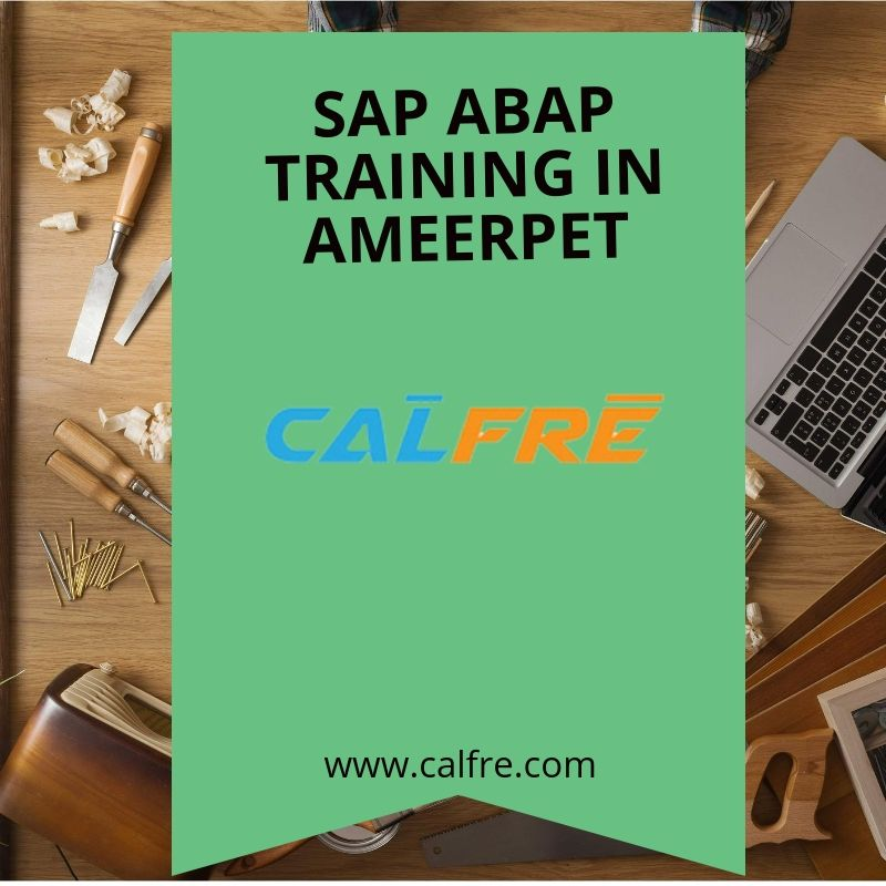 Those Who Are Searching For Sap Abap Training In Ameerpet They Can Easily Find Training Institute Entire Details In Calfre Website Coming T Sap Train Institute