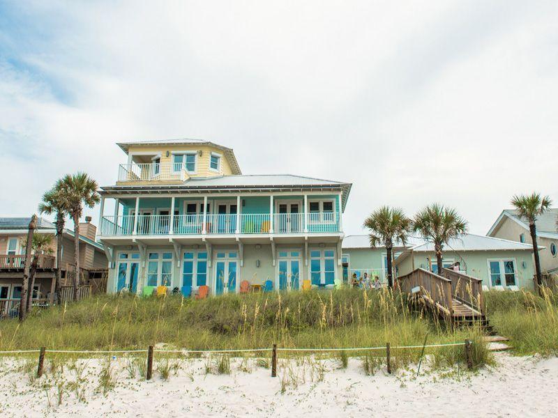 Beachfront Vacation Home Stunning Views Allows Beach Weddings RentalsBeach VacationsPanama City