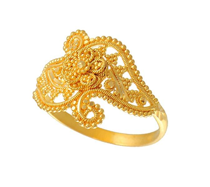Gold Engagement Rings | Wedding Ring Designs For Women ...