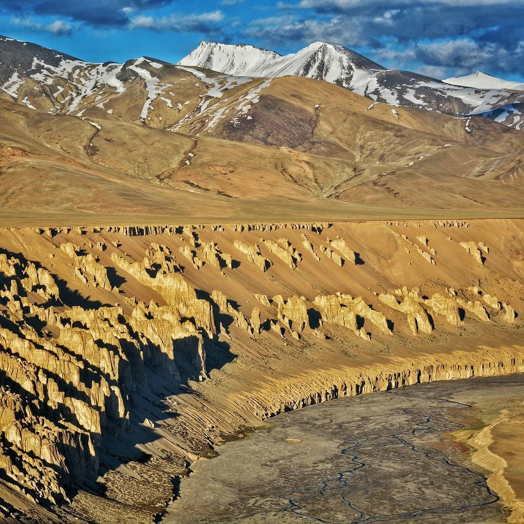 Amazing Pang Valley in Ladakh India