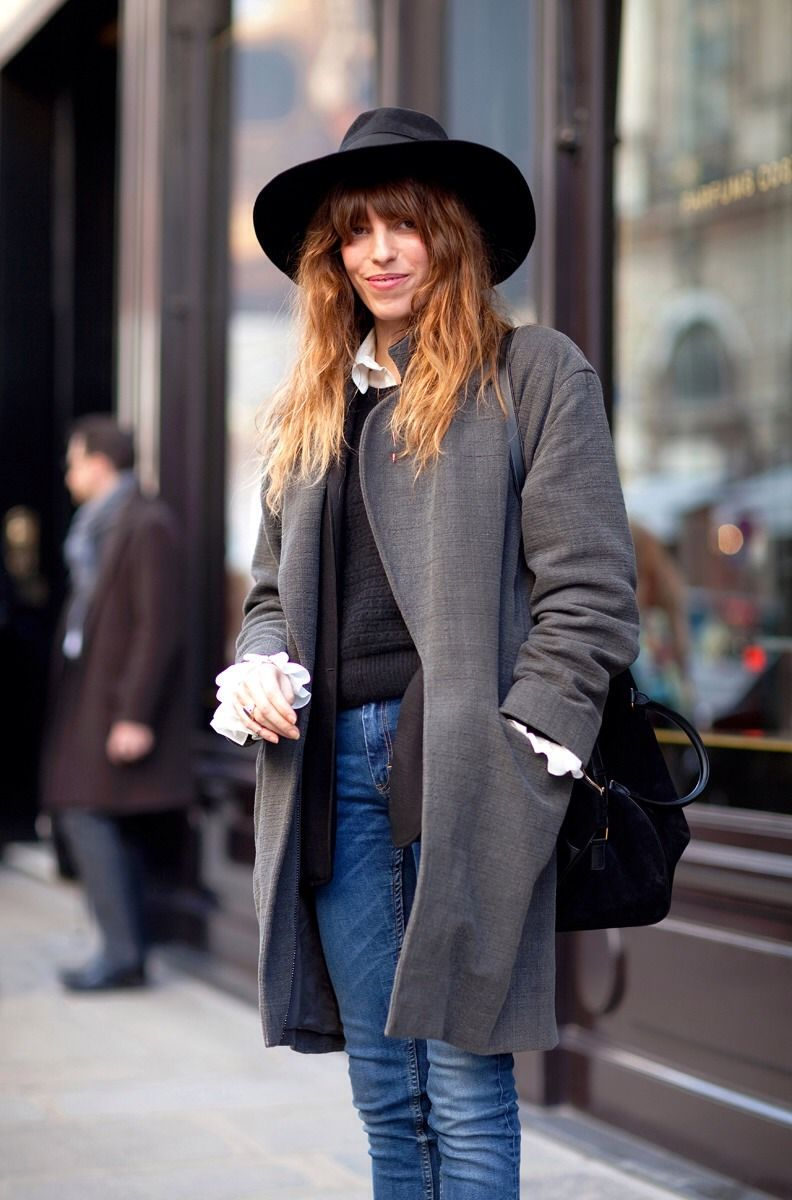 Lou Doillon In Her French Wardrobe Strolling Streetstyle
